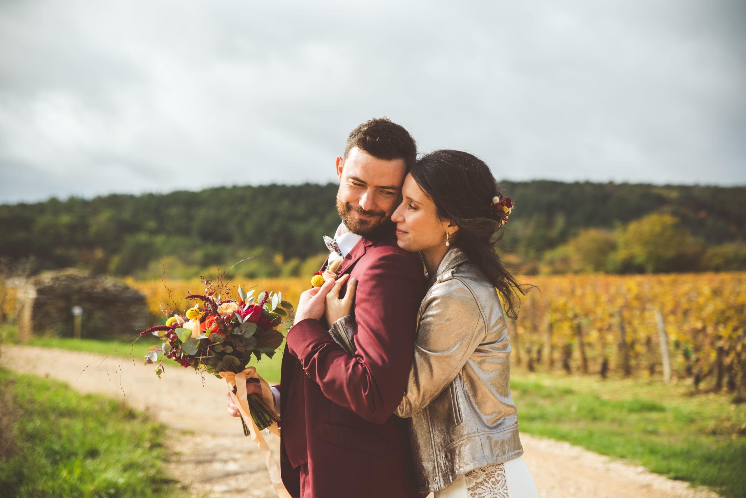 Mariage aux couleurs d'Automne en Côte-d'Or