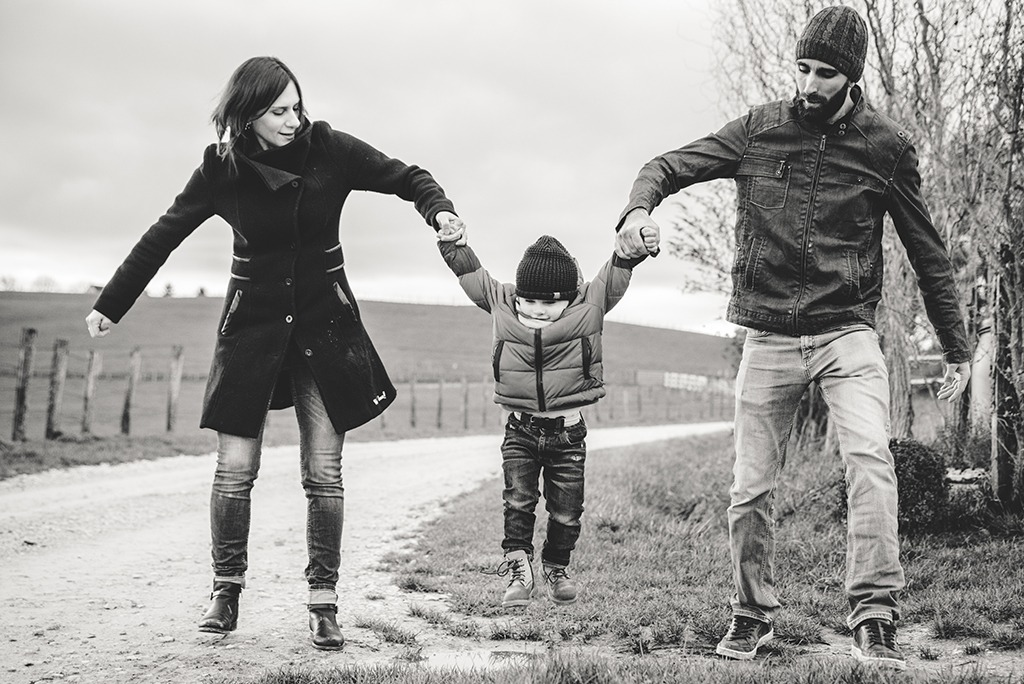 famille lifestyle extérieur