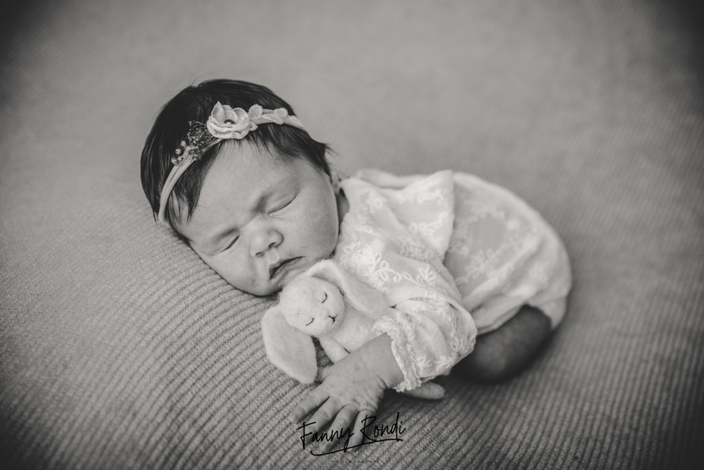 photo bébé Dijon endormit